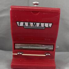VINTAGE RED FARMALL IH INTERNATIONAL HARVESTER TRACTORS TOOTHPICK DISPENSER