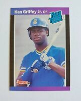 Ken Griffey Jr Rookie Baseball Card Donruss 1989 Rated Rookie Seattle Mariners