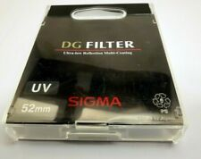 Sigma  UV Lens Filter Digital 52mm Digital Genuine - FREE Shipping USA