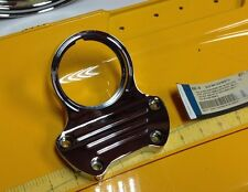 OEM Harley FXDWG Wide Glide Softail Chrome Billet Mini Tachometer Riser Cap Top