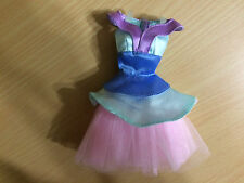 Disney Store Exclusive Princess Mulan Barbie Doll Size Blue Ballet Dress Tulle