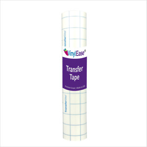12 in Wide Clear Premium Blue Grid Transfer Tape for Craft Vinyl VARIOUS SIZES