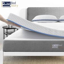 BedStory 10cm Matratze Topper 90 140 160 180 Gel Memory Foam Auflage H2&H3 Visco