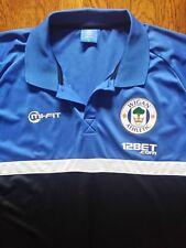 Wigan Athletic FC Football Soccer Shirt Mens Polo Shirt, Large
