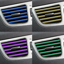 20Pcs Car Truck Accessories AUTO Air Conditioner Outlet Vent Decoration Strip US