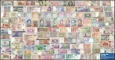 TWN - 100 BANCONOTE MONDIALI DIFFERENTI UNC a corso legale (legal tender only)