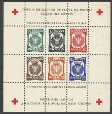 POLAND, WWII, POW DACHAU-ALLACH, M/S 4 (*)