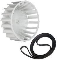 31001317 341241 Maytag Admiral Magic Chef Dryer OEM Blower Wheel Supco Belt Kit