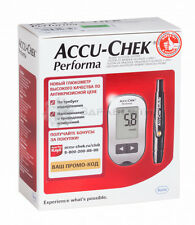 Accu-Chek Performa Blood Glucose Meter  +10 free tests +10 Softclix lancets