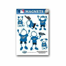 Toronto Blue Jays Family Magnet Set (NEW) Auto Car Stickers Emblems 6 Pack MLB