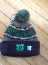 NOTRE DAM Top of the World Brand Knit Pom Knit Hat - ****NEW**** Retail $28