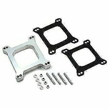 "Carb Carburetor Spacer 1"" Aluminum Holley Edelbrock"