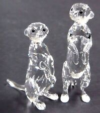 MEERKATS CLEAR SET RARE ENCOUNTERS ANIMALS 2016 SWAROVSKI CRYSTAL   5135929