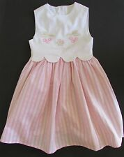 "Tartine et Chocolate France Pink  Embroidered ""Cherry"" Dress 3ANS"