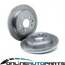 2 Rear Disc Brake Rotors Falcon BA BF FG 2002-12 Fairlane XT G6 G6E XR6 XR8 New