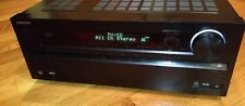 Onkyo TX-NR609 Audio Video Receiver 7.2 THX HDMI Network Home Theater for Parts