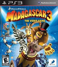 Madagascar 3: The Video Game (Sony PlayStation 3, 2012)