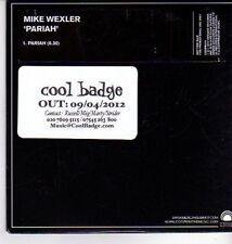 (DA542) Mike Wexler, Pariah - 2012 DJ CD