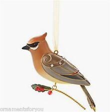 Hallmark 2013 Cedar Waxwing Beauty of Birds Series Ornament