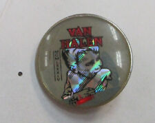 Van Halen Vintage Metal Lapel Pin New From Late 80'S Heavy Metal Wow