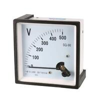 SQ-96 AC 0-500V Class 1.5 Analog Volt Panel Mounting Meter Gauge