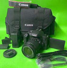 "Canon EOS 750D DSLR Kamera 24,2MP 3"" +18-55mm IS STM  *NEU*"