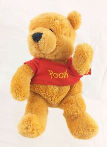 "Winnie the Pooh Bear 7"" Beanie Plush Disney Store *Factory Error*"