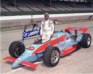 Gordon Johncock autographed 1987 Indy 500 8x10 photo