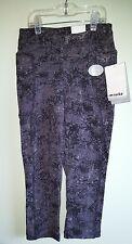NWT $50 Marika Women's XS Shape Enhancing Slimming Capri Legging Pants BLACK #13