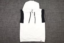 VERSACE COLLECTION WHITE MEDIUM SLEEVELESS HOODIE PULLOVER SWEATER MENS NWT NEW