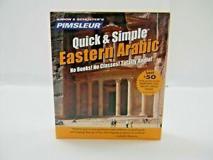 Pimsleur Quick & Simple Eastern Arabic 4CD's ***NIB***