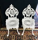 VICTORIAN CAST IRON GARDEN CHAIRS BY ATLANTA STOVE WORKS