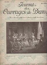 JOURNAL DES OUVRAGES DE DAMES N°280 du 1er juillet 1911 vintage fashion