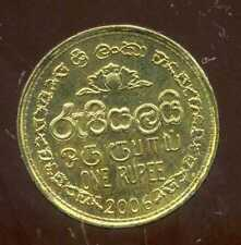 SRI LANKA  1 rupee  2006