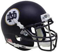 NOTRE DAME FIGHTING IRISH NCAA Schutt XP Authentic MINI Football Helmet