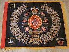 The Light Infantry 3rd battalion Regimental colours flag