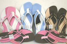 Flache Damen-Sandalen & -Badeschuhe aus Textil für den Strand