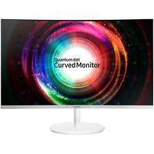 "Samsung C32H711 32"" QLED Curved Monitor 4MS QHD 2560x1440 HDMI DP FreeSync VA"