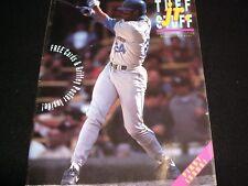 TUFF STUFF JR. MAGAZINE  ° JULY 1991 <> KEN GRIFFEY  <>  FIRST ISSUE.