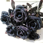 1pc Artificial Flowers Fake Bouquet Home Decor Silk Rose Wedding Outdoor Party