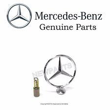 NEW Mercedes-Benz W116 OES Hood Star + Spring RARE Emblem Insignia Logo Crest