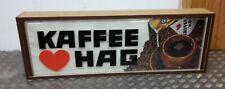 alte Werbereklame, Werbebeleuchtung, KAFFEE HAG    60er Jahre