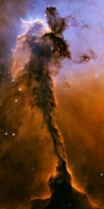 "WALL MURAL - Hubble HD Photo-42""x85"" - The Eagle Nebula - Archival Matte Print"