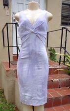 Michael Kors MULTI COLOR TYE DYE STRETCH SLEEVELESS DRESS Sz 4 Made In Italy