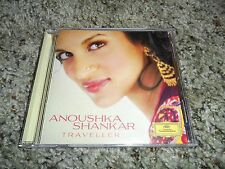 Anoushka Shankar Traveller Signed Autographed Sitar CD