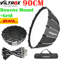 Viltrox Weeylite VP-90 Deep Parabolic Softbox Bowens Mount Grid For Photography