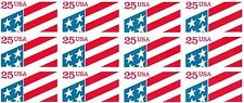 20 PANES OF 12 SCOTT #2475a & 2522a (10 EA) U.S.FLAG ON PLASTIC BACKING 80% FACE