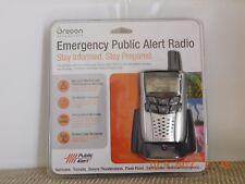 Reduced! Oregon Emergency Public Alert Radio, Charging Station, New 63/08