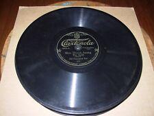OLD HOMESTEAD TRIO when you & i / silver threads  - 78 rpm claxtonola 10064 -