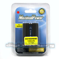 MaximalPower Camera Battery for Sony NP-FM50 NP-FM55H Alpha DSLR-A100